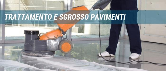 Trattamento e sgrosso pavimenti Civitavecchia Roma Viterbo Pulizie